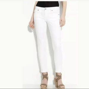 New Kut From The Kloth Audrey Skinny White  Jeans